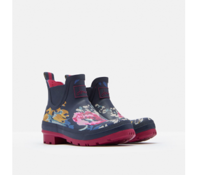 Joules Wellibob Short Height Printed Wellies