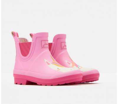 Joules Girls Wellibobs Ankle Wellys