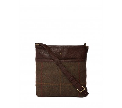 Joules Uxhall Tweed Small Cross Body Bag