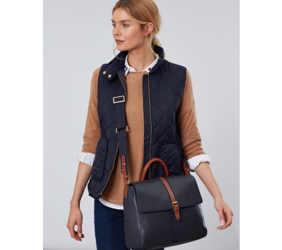 Joules Banbury Carriage Leather Tote Bag