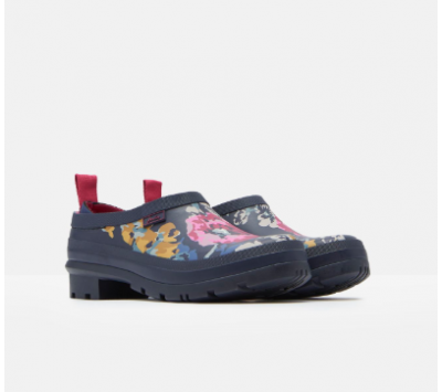 Joules Pop On Slip On Welly Clog