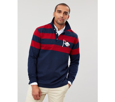 Joules Mens Seatry Nautical Rugby Shirt