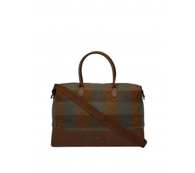 Joules Paddington Tweed Holdall