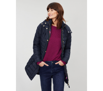 Joules Thirlmere Longline Padded Coat