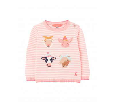 Joules Baby Holly Intarsia Jumper