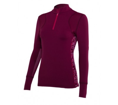Noble Outfitters Womens Lindsey Performance Long Sleeve Top