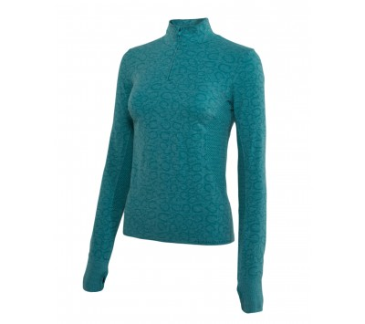 Noble Outfitters Womens Revolution Seamless Long Sleeve Top