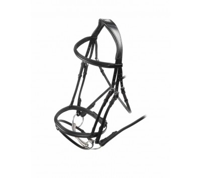 Shires Velociti Padded Raised Flash Bridle