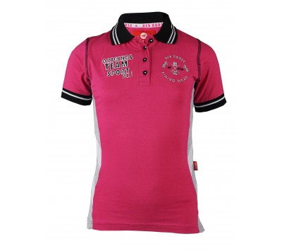 Red Horse Venice Girls Polo Shirt