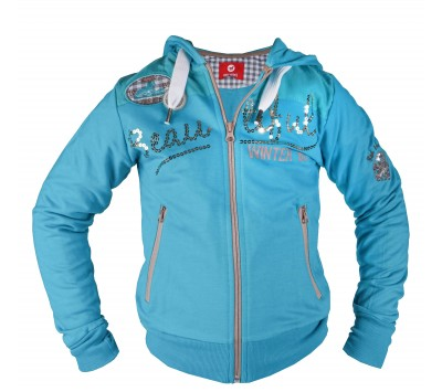 Horka Nevada Girls Full Zip Sweater