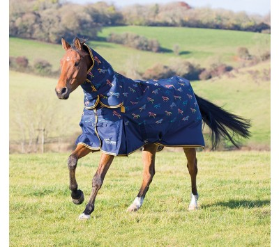 Shires Highlander Original 200 Combo Turnout Rug