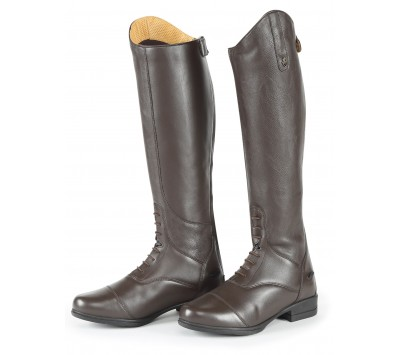 Shires Adults Moretta Gianna Leather Riding Boots