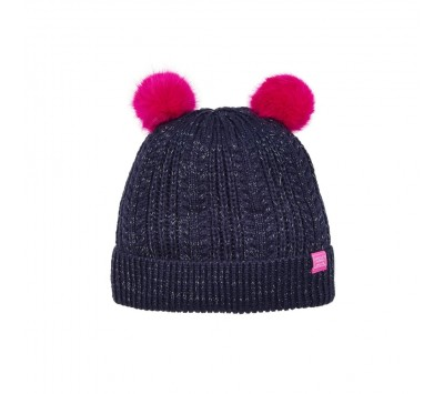 Joules Ailsa Girls Bobble Hat