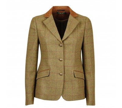 Dublin Albany Tweed Suede Collar Show Jacket