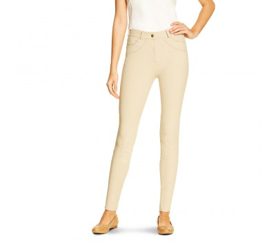Ariat Womens Olympia Knee Patch Front Zip Breeches