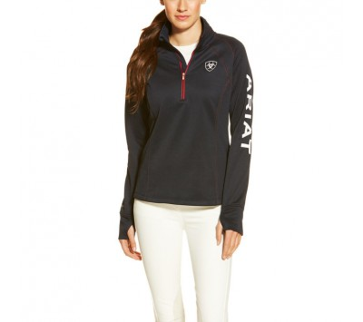 Ariat Womens Tek Team 1/4 Zip Pullover