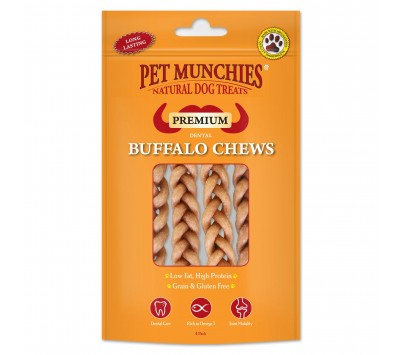 Pet Munchies Buffalo Dental Chew Small