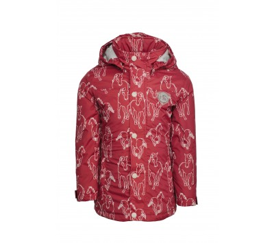 Horseware Girls Horseprint Jacket