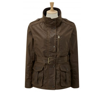 Caldene Figsbury Belted Wax Womens Jacket