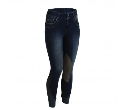 Tredstep Denim II Ladies Knee Patch Breeches