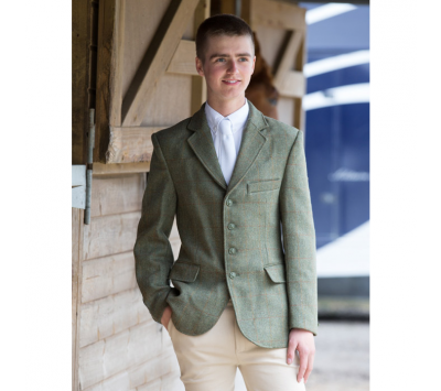Equetech Junior Boys Claydon Tweed Jacket