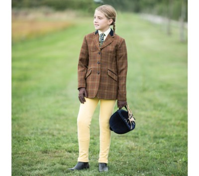 Equetech Junior Marlow Deluxe Tweed Jacket