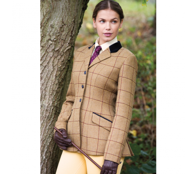 Equetech Womens Wheatley Deluxe Tweed Jacket