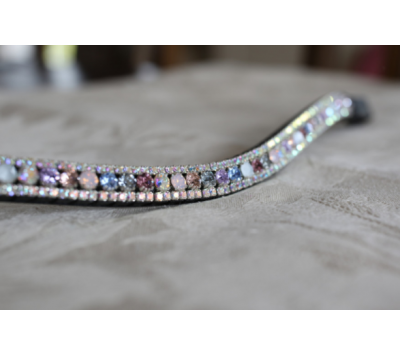 Equiture Tiffany Curve Unicorn Browband