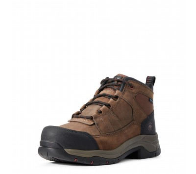 Ariat Mens Telluride Work Waterproof Composite Toe Work Boot