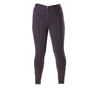 Firefoot Ladies Heaton Checked Breeches