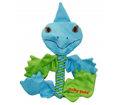 Jolly Pets Animal Flathead Dog Toy
