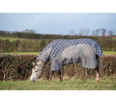 Gallop Patterned Turnout Fly Rug