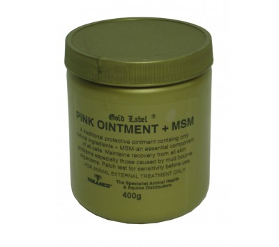 Gold Label Pink Ointment & MSM