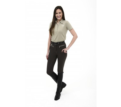 Rugged Coolmax Ladies Gel Seat Breeches