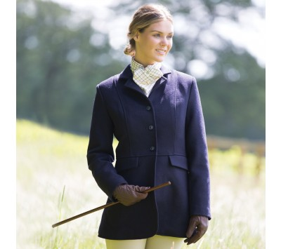 Equetech Ladies Hunt Frock Wool Coat
