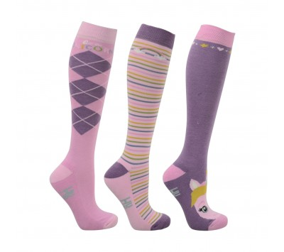 HyFashion Adults Unicorn Socks
