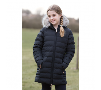 Equetech Junior Long Quilted Jacket