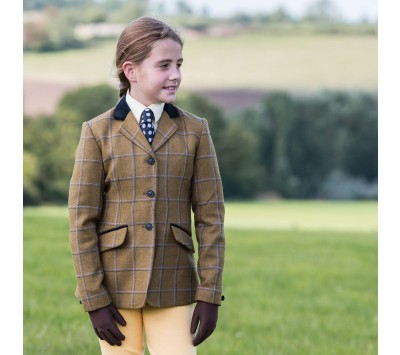 Equetech Junior Studham Deluxe Tweed Riding Jacket