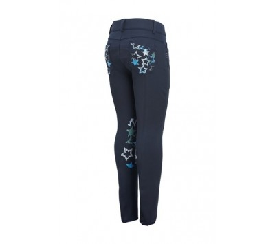 Montar Childrens Star Knee Grip Breeches