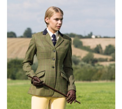 Equetech Womens Launton Deluxe Tweed Jacket