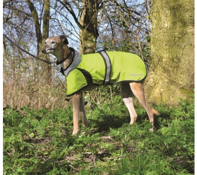 Masta Woofmasta Hi Viz Flash Dog Coat