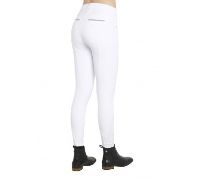 Montar Kate Silver Band Full Seat Silicone Womens Breeches