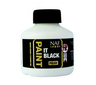 NAF Paint It Black Polish