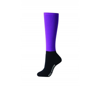 Noble Outfitters Womens Over the Calf Peddies - Blackberry