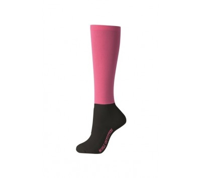 Noble Outfitters Womens Over the Calf Peddies - Flamingo