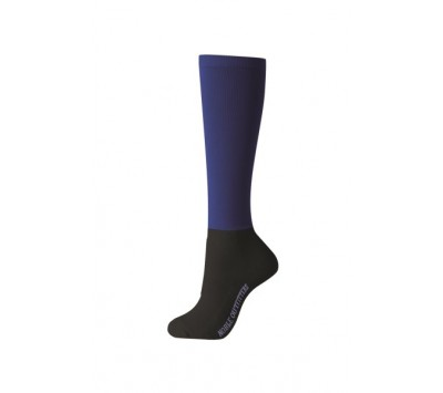 Noble Outfitters Womens Over the Calf Peddies - Navy