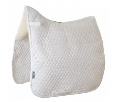 Nuumed Gullet Free HiWither Half Wool Saddlepad - Dressage
