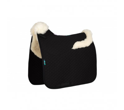 Nuumed HiWither Half Wool Saddlepad With Collars