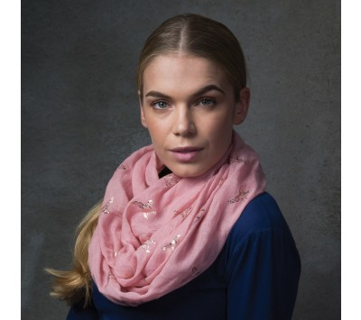 Equetech Pheasants Infinity Scarf