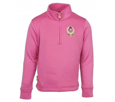 Toggi Plum Children's Quarter Zip Fleece